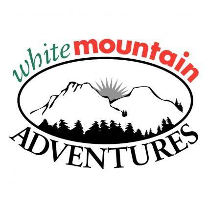 free vector White mountain adventures