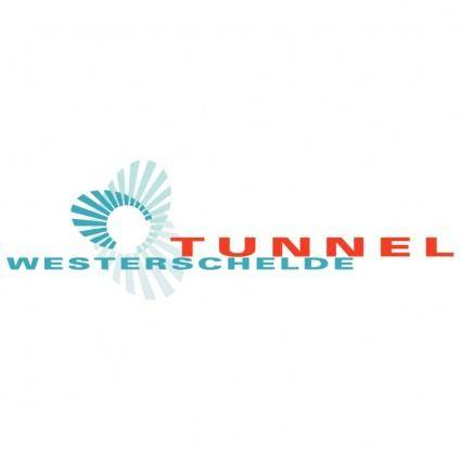 free vector Westerschelde tunnel