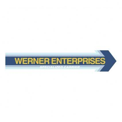 free vector Werner enterprises