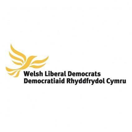 free vector Welsh liberal democrats