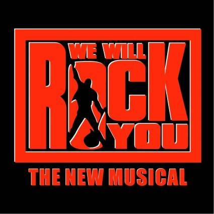 free vector We will rock you