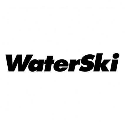 free vector Waterski