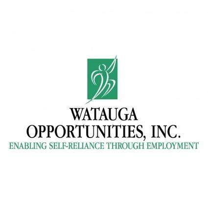 free vector Watauga opportunities