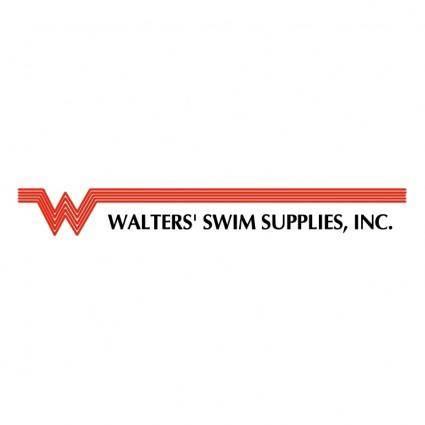 free vector Walters swim supplies