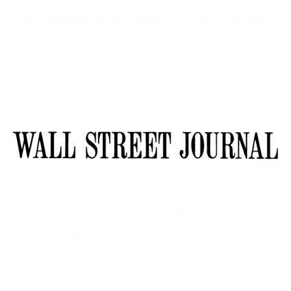 free vector Wall street journal
