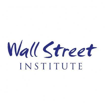 free vector Wall street institute