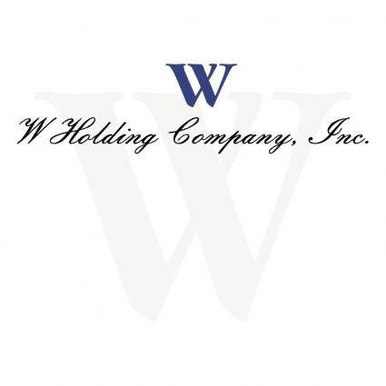 free vector W holding company