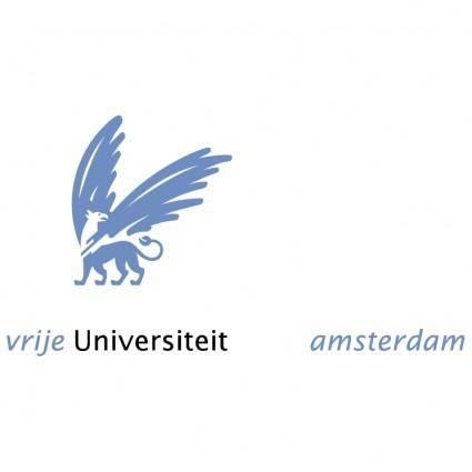 free vector Vrije universiteit amsterdam 2