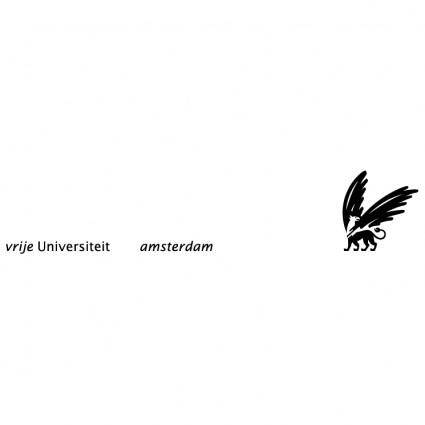 free vector Vrije universiteit amsterdam 1