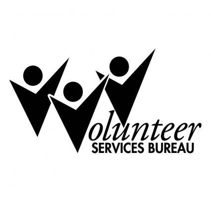 free vector Volunteer services bureau