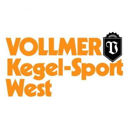 free vector Vollmer kegel sport west