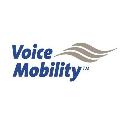 free vector Voice mobility