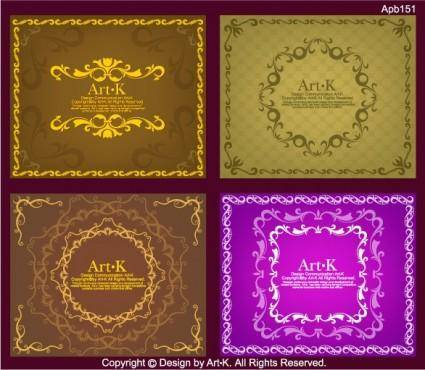 free vector 4 simple vector of european lace