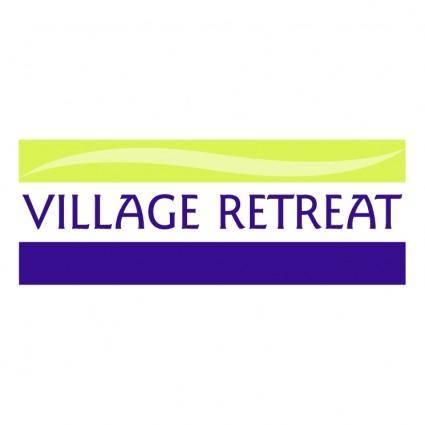 free vector Village retreat