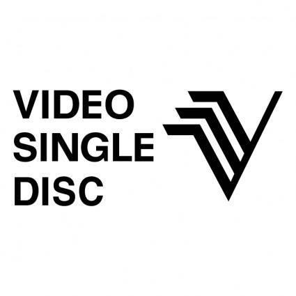free vector Video single disc