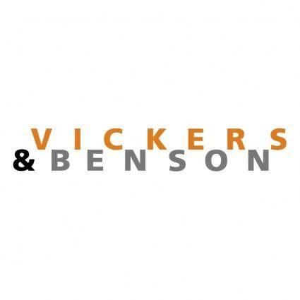 Vickers benson