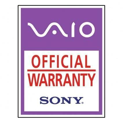 Vaio official warranty