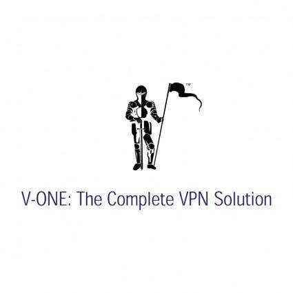 free vector V one 0