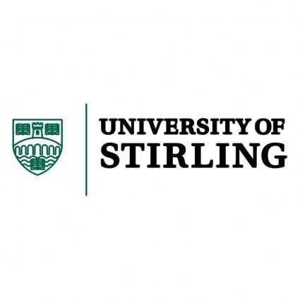 free vector University of stirling