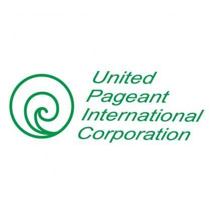 free vector United pageant international corporation