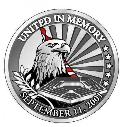 free vector United in memory