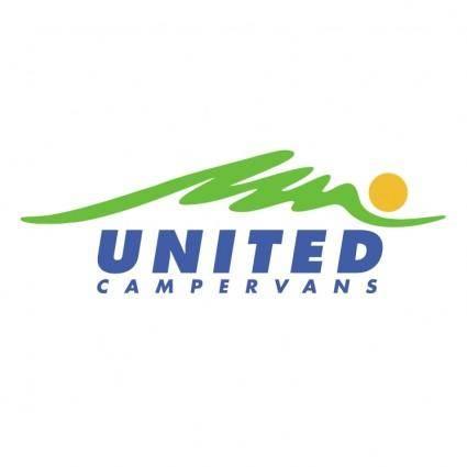 free vector United campervans