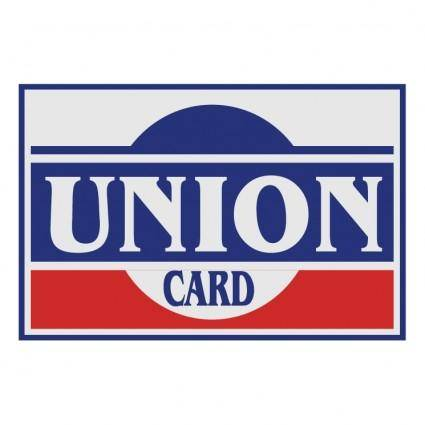 free vector Union card