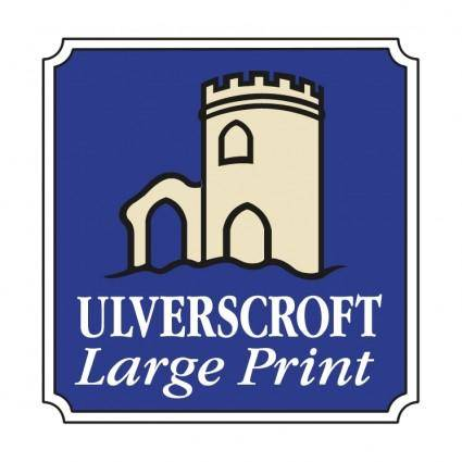 Ulverscroft large print