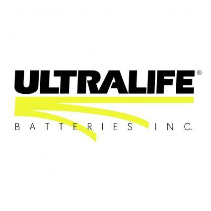 Ultralife batteries