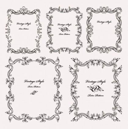free vector Beautiful and practical lace vector