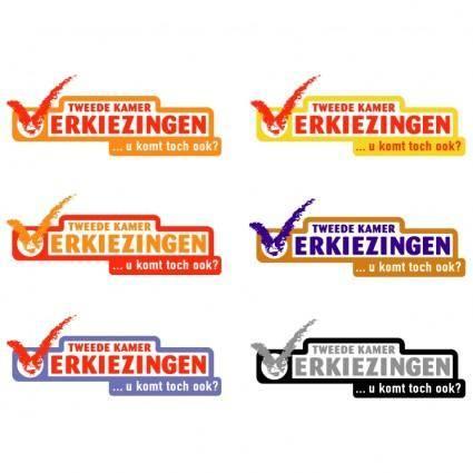 free vector Tweede kamer verkiezingen 2002