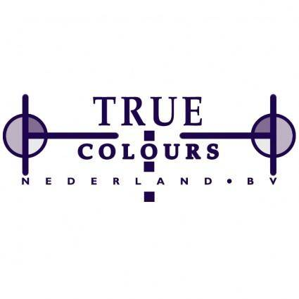 free vector True colours
