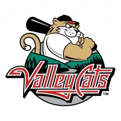 free vector Tri city valleycats 0