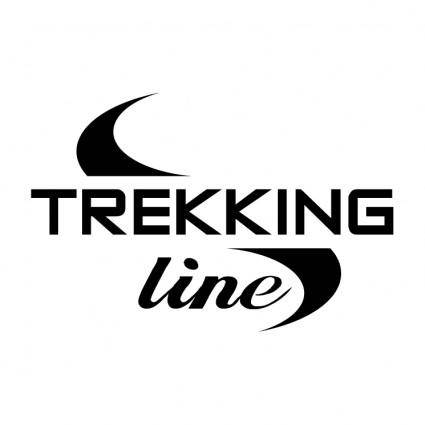 free vector Trekking line