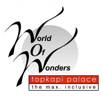 free vector Topkapi palace