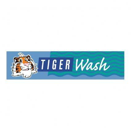 free vector Tiger wash