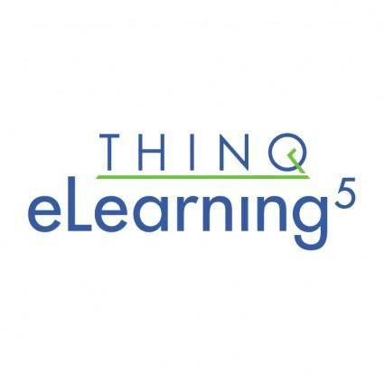 free vector Thinq elearning5