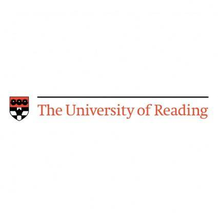 free vector The university of reading 1