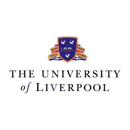 free vector The university of liverpool