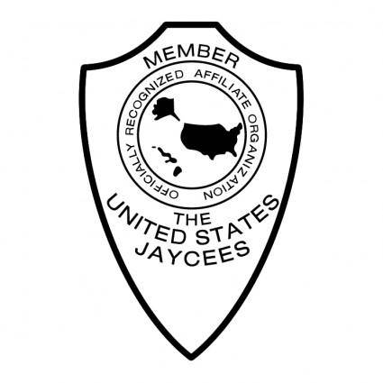 free vector The united states jaycees