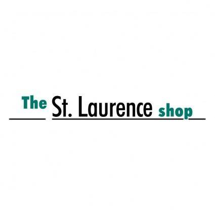 free vector The st laurence shop