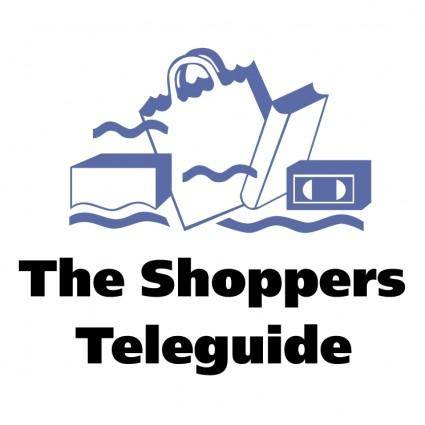 free vector The shoppers teleguide