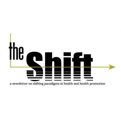 free vector The shift