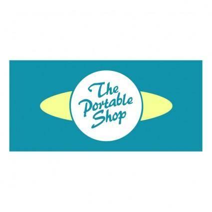 free vector The portable shop