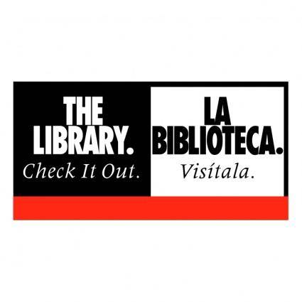 free vector The library 0