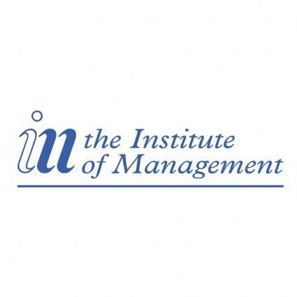 free vector The institute of management