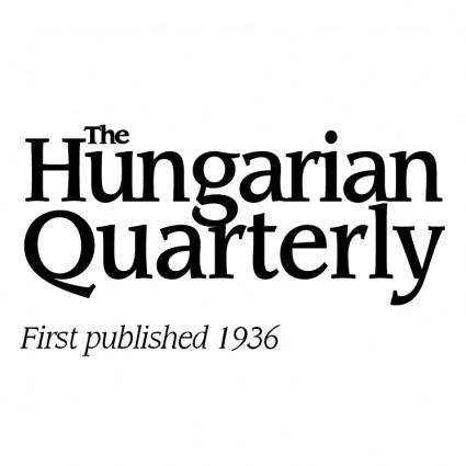 free vector The hungarian quarterly