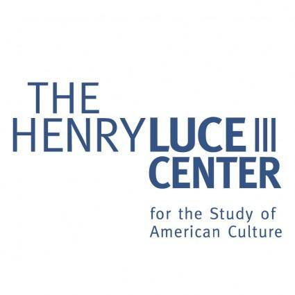 free vector The henry luce iii center