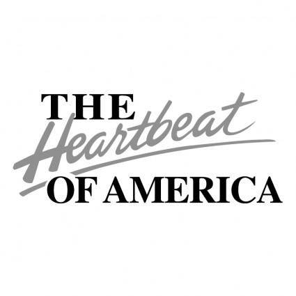 free vector The heartbeat of america