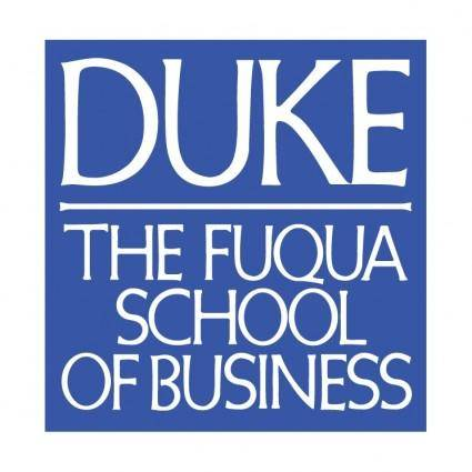 free vector The fuqua school of business